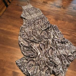 Free People smocked dress size Small